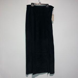 Double D Ranch Black Skirt w/ Slits